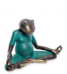 24-103-02 Фигура  Лягушка  бронза  о.Бали