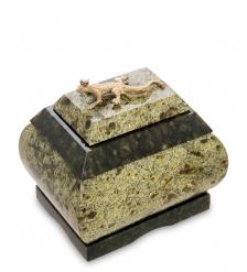 NST-08 Шкатулка  Хозяйка медной горы   змеевик