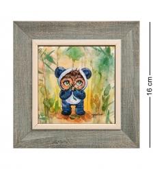 SZ-419 Панно керамическое «Любимые глазки» 10х10