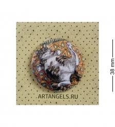 ANG-1003 Закатный значок  Обниму тебя покрепче