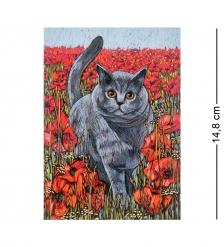 ANG-1012 Почтовая открытка  Яркое лето