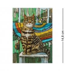 ANG-1013 Почтовая открытка  А где наш пёсик
