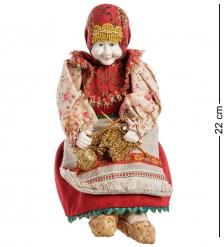 RK-722/2 Кукла-шкатулка «Бабушка с вязанием»
