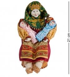 RK-723/2 Кукла-шкатулка Бабушка с детьми