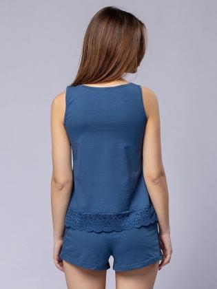 Пижама женская 5639/2, р.084, рост 170, индиго  Serge