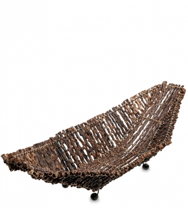 63-021-01 Декоративная корзинка большая  о.Бали
