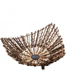 63-012-01 Декоративная корзинка большая  о.Бали