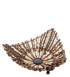 63-012-02 Декоративная корзинка средняя  о.Бали