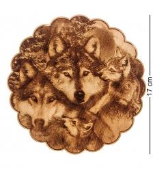 КД-21/074 Подставка под горячее  Волки