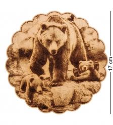 КД-21/007 Подставка под горячее  Медведи