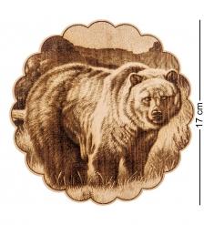 КД-21/008 Подставка под горячее  Медведь
