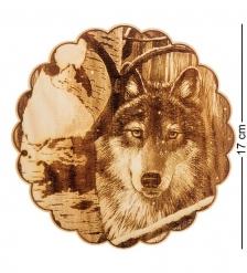 КД-21/264 Подставка под горячее  Волк