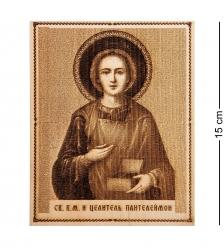 КД-11/106 Икона малая  Святой Пантелеймон Целитель