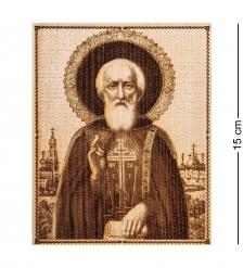 КД-11/105 Икона малая  Святой Сергий Радонежский