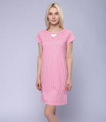 Платье для дома женское 6852/7, р.084, рост 170, молочный с рис. 2106  Serge