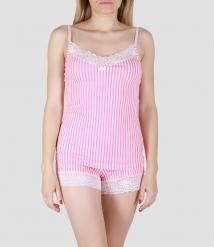 Пижама женская 5657/1, р.092, рост 170, молочный с рис. 2106  Serge