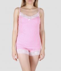 Пижама женская 5657/1, р.088, рост 170, молочный с рис. 2106  Serge