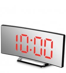 ЯЛ-07-06/2 Часы электронные  черный корпус с красной подсветкой