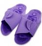 MSG-03/04-S Массажные тапочки фиолетовые