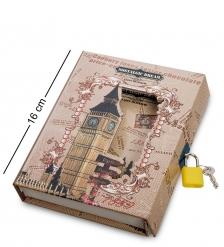 NB-61/3 Блокнот «Воспоминания» в коробке с замком
