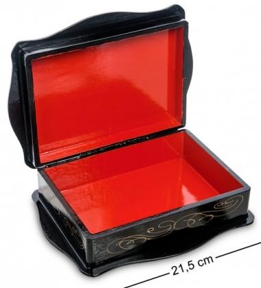 ШК-13/15-C Шкатулка в технике декупаж  прям. 18х13х5