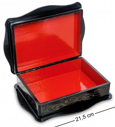 ШК-13/15-D Шкатулка в технике декупаж  прям. 18х13х5
