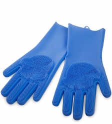 BK-163/3 Перчатки хозяйственные синие