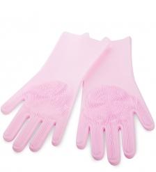 DN-61/2 Перчатки хозяйственные розовые