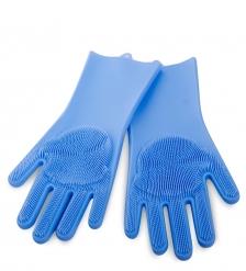DN-61/4 Перчатки хозяйственные синие