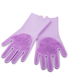 BK-163/4 Перчатки хозяйственные фиолетовый