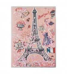 NB-49/ 7 Блокнот «Парижские каникулы» с плавающими пайетками