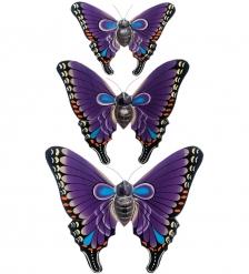 63-029-02 Панно  Трио бабочек   о.Бали