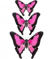 63-029-03 Панно  Трио бабочек   о.Бали