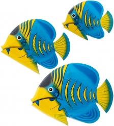 63-051-01 Панно  Рыба  набор из трех  о.Бали