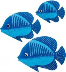 63-051-04 Панно  Рыба  набор из трех  о.Бали