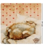 ANG-1103 Наволочка гобеленовая  Любимый бегемотик  45х45