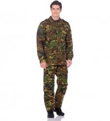 ЯЛ-02-70 Костюм куртка/брюки, р.48-50, рост 182-188, кмф зеленый