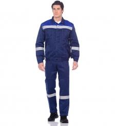ЯЛ-02-95 Костюм куртка/полукомб. р.48-50, рост 182-188, василек