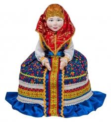 RK-105/2 Кукла-грелка на чайник Дуняша