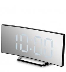ЯЛ-07-06/3 Часы электронные  черный корпус с белой подсветкой