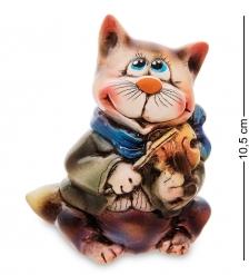 АБ- 70 Фигурка керамическая «Кот со скрипкой»