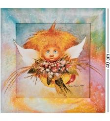 ANG-1137 Жикле в раме «Ангел обаяния» 30х30