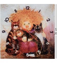 ANG-1184 Часы  Кто здесь котиков не любит  30х30