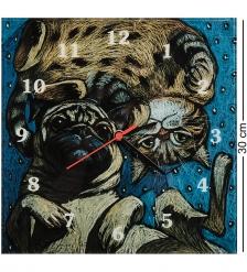 ANG-1192 Часы «Инь и Янь» 30х30