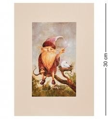 ANG-1265 Жикле в паспарту  Волшебник, дарящий сдажкие сны  21х29,7