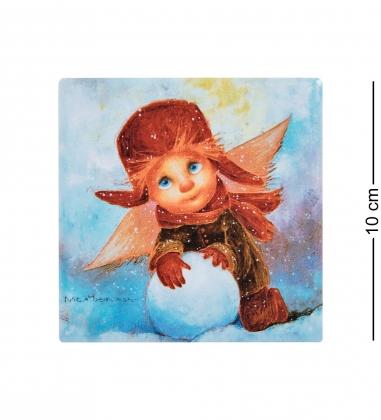 ANG-1410 Магнит «Зимние радости» 10х10