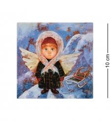 ANG-1440 Магнит Ангел с теплым сердцем 10х10