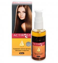 MED-63/01 «ActiRost» двухфазный спрей для волос с маслами арганы и авокадо, 60 мл