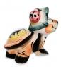 ГЛ- 16 Фигурка  Черепашка  цв.  Гжельский фарфор