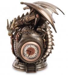 WS-1068 Часы настольные в стиле Стимпанк «Дракон»